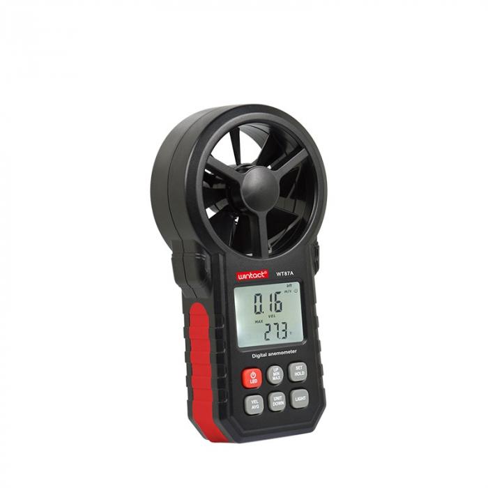 Anemometru multifunctional Wintact WtT87 scara Beaufort temperatura viteza vant [2]