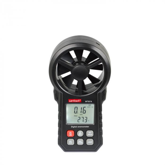 Anemometru multifunctional Wintact WtT87 scara Beaufort temperatura viteza vant [0]