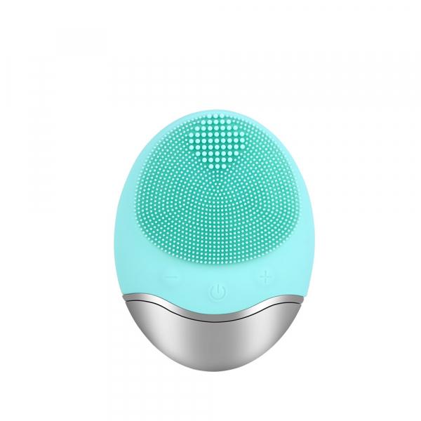 Aparat multifunctional masaj, curatare faciala Optimus AT Skin™  JMY003 cu ioni negativi, din silicon, rezistent la apa, green [0]