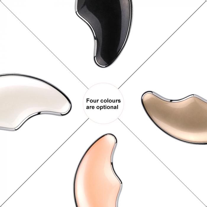 Aparat multifunctional masaj, Optimus AT Skin™  OFY-1801 pentru fermitatea pielii, reducerea ridurilor si relaxare, White [2]