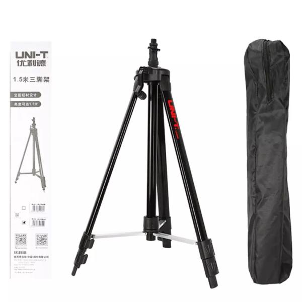 Trepied profesional aluminiu Uni-T LM305 cu boloboc pentru nivela laser filet 5/8 [2]