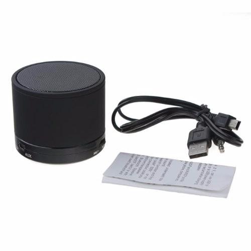 Boxa portabila metalica Optimus AT X44, rezistenta la apa, 3w, bluetooth, radio FM, handsfree, card micro-sd, black [1]