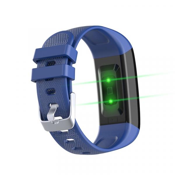 Bratara fitness Optimus AT 22 plus ecran IPS color cu touch 1,14 inch, IP67, puls, tensiune, notificari, calorii, distanta, aplicatie profi, incarcare facila, blue [1]