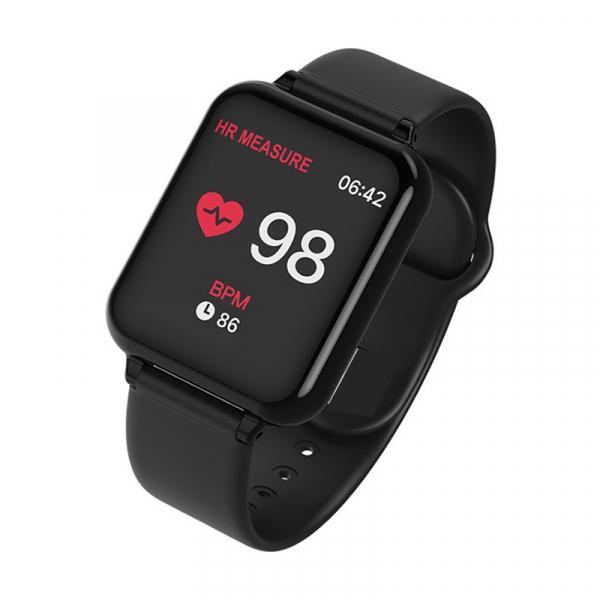 Bratara fitness Optimus AT 75, multiple functii, smartwatch, ecran IPS color 1,3 inch, IP67, black [2]