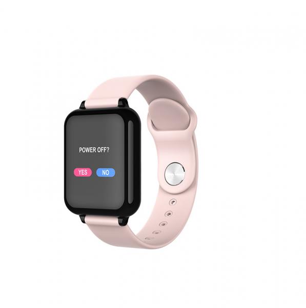 Bratara fitness Optimus AT 75, multiple functii, smartwatch, ecran IPS color 1,3 inch, IP67, pink [0]