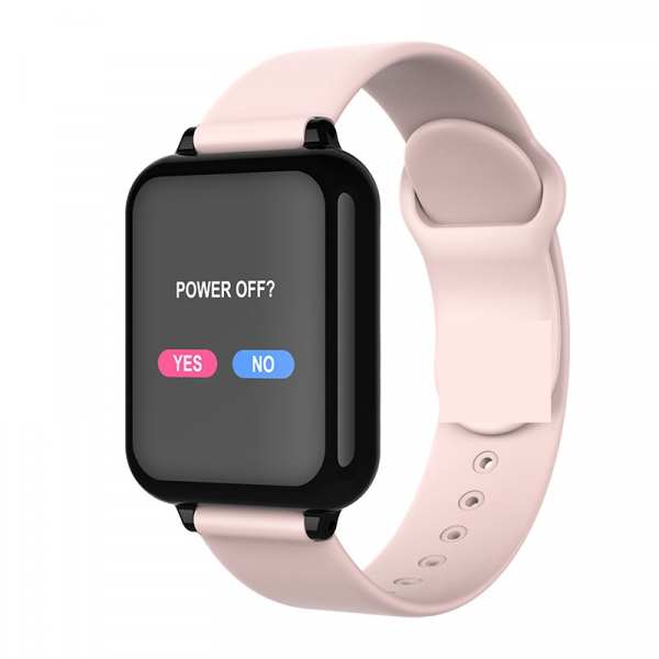 Bratara fitness Optimus AT 75, multiple functii, smartwatch, ecran IPS color 1,3 inch, IP67, pink [1]