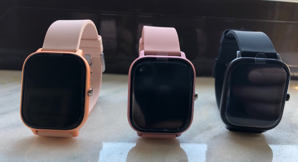 Ceas inteligent (smartwatch) Optimus AT P8 ecran cu touch 1.4 inch color HD, smartwatch, moduri sport, pedometru, puls, notificari, black [1]