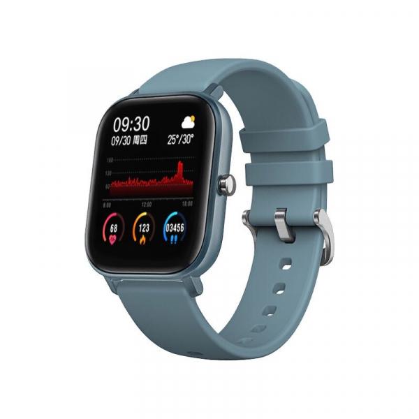 Ceas inteligent (smartwatch) Optimus AT P8 ecran cu touch 1.4 inch color HD, moduri sport, pedometru, puls, notificari, blue [0]