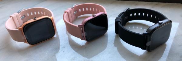 Ceas inteligent (smartwatch) Optimus AT P8 ecran cu touch 1.4 inch color HD, smartwatch, moduri sport, pedometru, puls, notificari, pink [6]