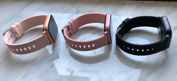 Ceas inteligent (smartwatch) Optimus AT P8 ecran cu touch 1.4 inch color HD, smartwatch, moduri sport, pedometru, puls, notificari, pink [7]