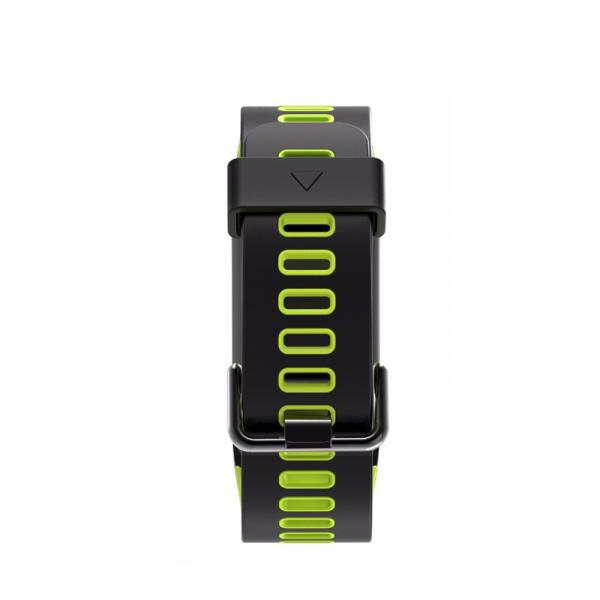 Bratara fitness sport ultra usoara Optimus AT 44 IP68, puls, tensiune, pedometru, notificari, calorii, distanta, moduri sport, black/green [2]
