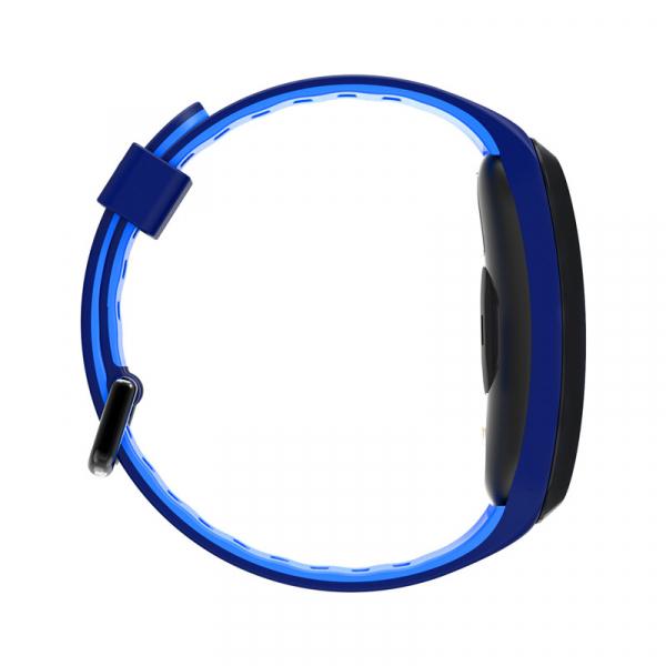 Bratara fitness sport ultra usoara Optimus AT 44 IP68, puls, tensiune, pedometru, notificari, calorii, distanta, moduri sport, blue [1]
