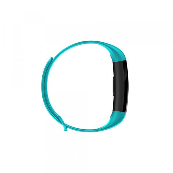 Bratara fitness ultra usoara Optimus AT 5, IP67, puls, tensiune, pedometru, notificari, calorii, distanta, light blue [2]