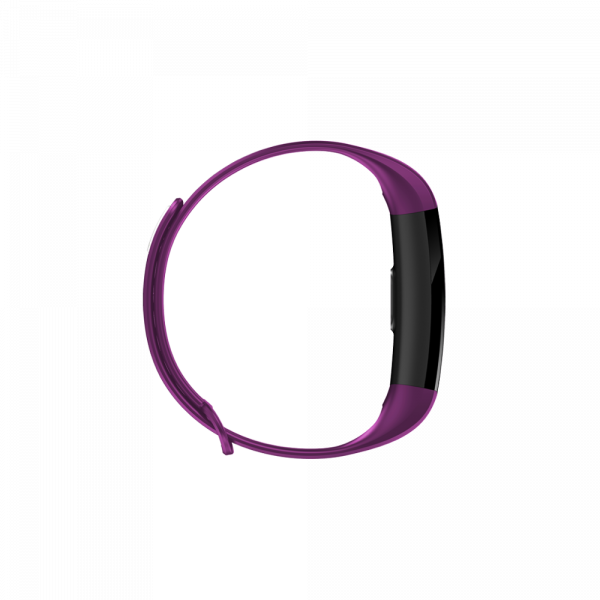 Bratara fitness ultra usoara Optimus AT 5, IP67, puls, tensiune, pedometru, notificari, calorii, distanta, violet [2]