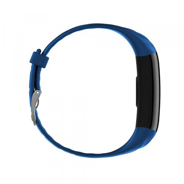 Bratara fitness ultra usoara Optimus AT 55, IP68, puls, tensiune, pedometru, notificari, calorii, distanta, dark blue [3]