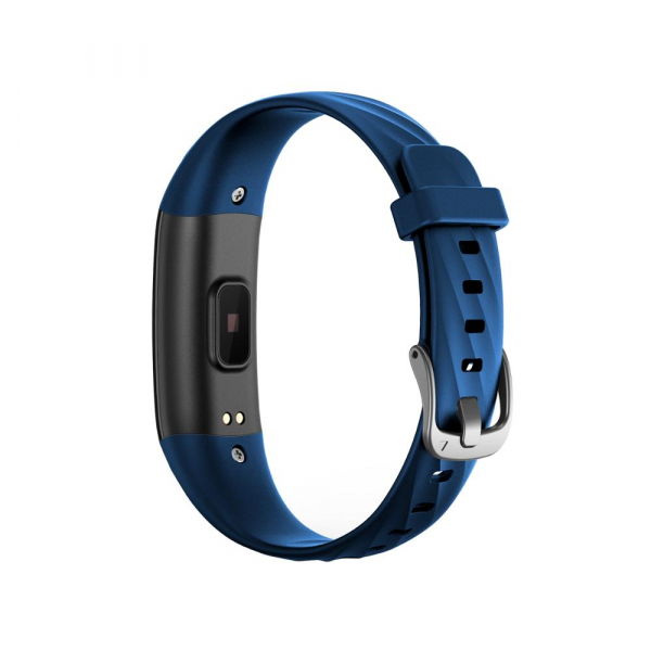 Bratara fitness ultra usoara Optimus AT 55, IP68, puls, tensiune, pedometru, notificari, calorii, distanta, dark blue [4]