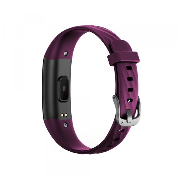 Bratara fitness ultra usoara Optimus AT 55, IP68, puls, tensiune, pedometru, notificari, calorii, distanta, violet [3]