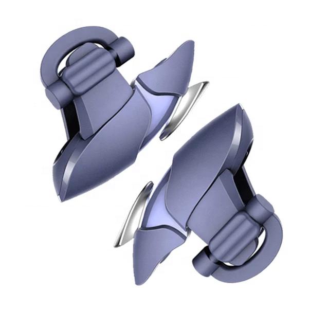 Butoane speciale de gaming tip rechin pentru telefoane compatibile PUBG mobile [2]