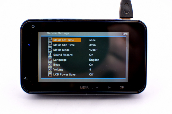 Camera auto Optimus AT M3 1080P 30fps fullHD, limba romana, 170 grade, 3.0 inch, LDWS, FCWS, mod parcare, cablu 3,5 metri [4]