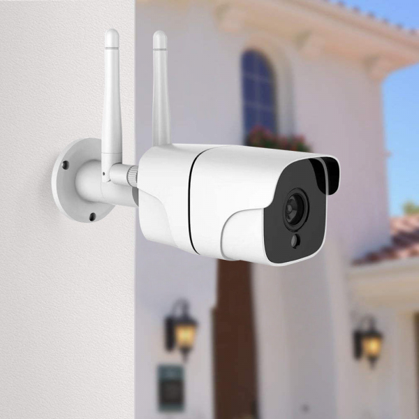 Camera supraveghere exterior IP WIFI Optimus AT AP-60 2.0 mpx fullHD 1920*1080P, comunicare bidirectionala, night vision, cloud aplicatie telefon [5]