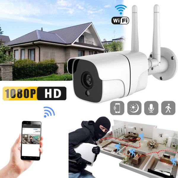 Camera supraveghere exterior IP WIFI Optimus AT AP-60 2.0 mpx fullHD 1920*1080P, comunicare bidirectionala, night vision, cloud aplicatie telefon [3]