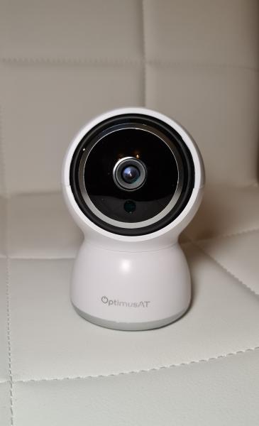 Camera supraveghere interior IP WIFI/LAN Optimus AT 308-2 fullHD 1920*1080P 2 mp comunicare bidirectionala, functie de auto urmarire subiect, night vision, aplicatie telefon [0]