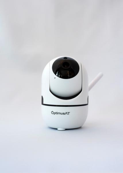 Camera supraveghere interior IP WIFI Optimus AT 288-2 fullHD 1920*1080P 2 mp comunicare bidirectionala, functie de auto urmarire subiect, night vision, aplicatie telefon [2]