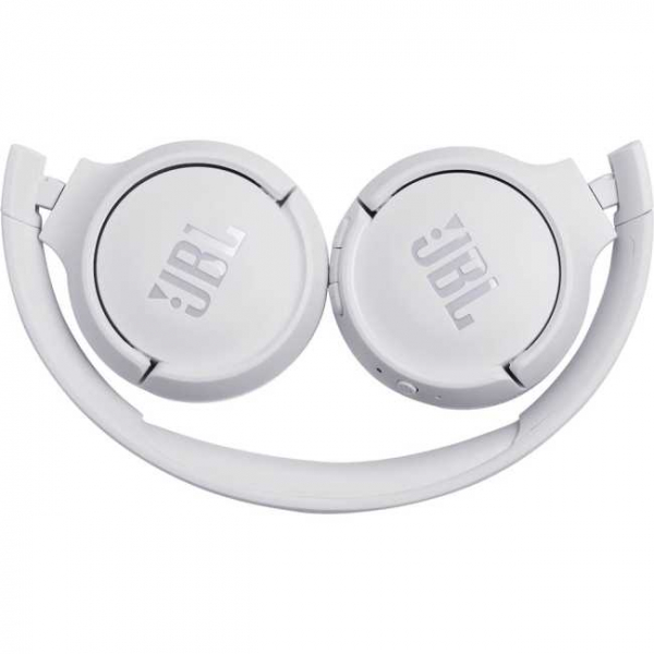 Casti audio On-ear JBL Tune 500, Wireless, Bluetooth, Pure Bass Sound, Hands-free Call, 16H, alb [4]