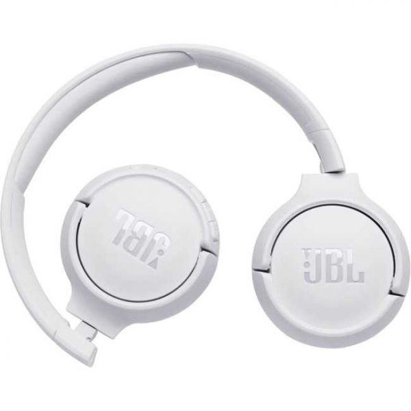 Casti audio On-ear JBL Tune 500, Wireless, Bluetooth, Pure Bass Sound, Hands-free Call, 16H, alb [2]