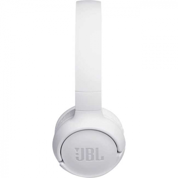 Casti audio On-ear JBL Tune 500, Wireless, Bluetooth, Pure Bass Sound, Hands-free Call, 16H, alb [1]