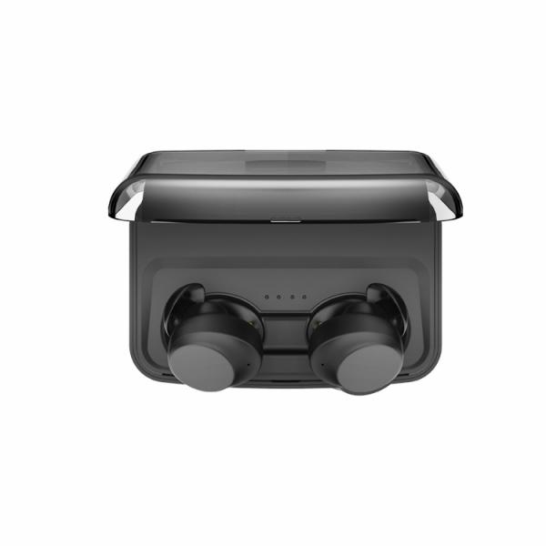 Casti bluetooth TWS Optimus AT C3 fara fir (wireless), senzori tactili, control audio, handsfree, rezistente la apa IPX4, black [1]