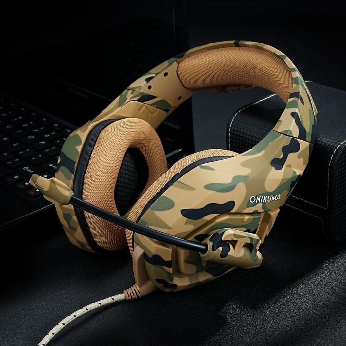 Casti Gaming DC-Onikuma K1, Microfon Noise Cancelling, Zero Ear Pressure, Multi Platform [5]