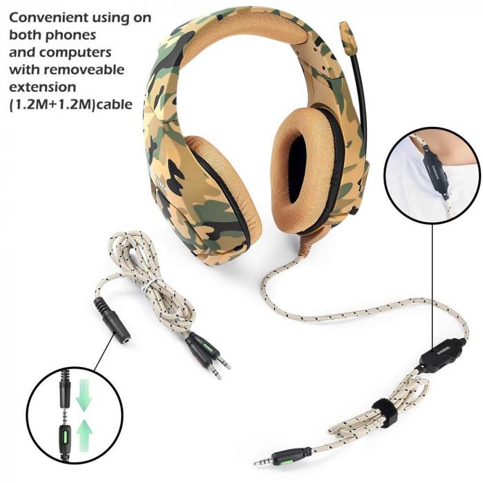 Casti Gaming DC-Onikuma K1, Microfon Noise Cancelling, Zero Ear Pressure, Multi Platform [0]