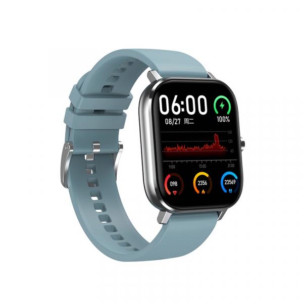 Ceas inteligent (smartwatch) Optimus AT DT-35 cu difuzor si microfon incorporat, ecran cu touch 1.54 inch color HD, moduri sport, pedometru, puls, notificari, green [0]