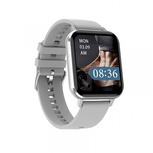 Ceas inteligent (smartwatch) Optimus AT DTX ecran cu touch 1.78 inch color HD, ECG, Sp02, puls, moduri sport, notificari, silicon grey [0]