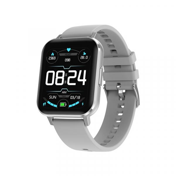 Ceas inteligent (smartwatch) Optimus AT DTX ecran cu touch 1.78 inch color HD, ECG, Sp02, puls, moduri sport, notificari, silicon grey [1]