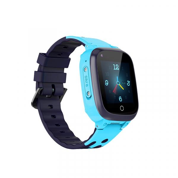 Ceas inteligent (smartwatch) pentru copii Optimus AT 8T cu localizare prin GPS, ecran 1.3 inch, apelare video, camera, buton SOS, albastru [1]