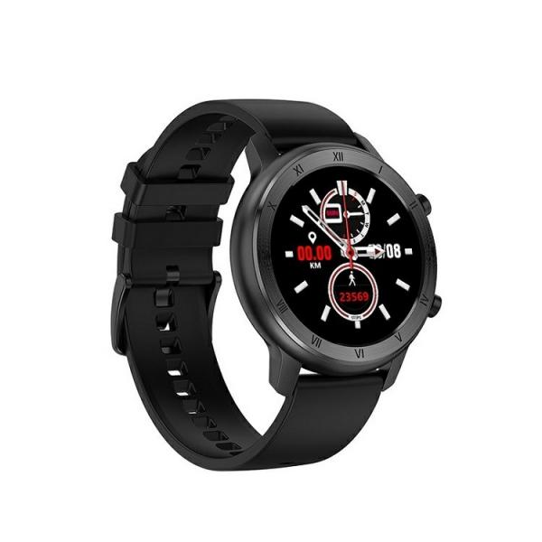 Ceas inteligent (smartwatch) Optimus AT DT-89 ecran cu touch 1.2 inch color HD, moduri sport, pedometru, puls, notificari, negru [0]