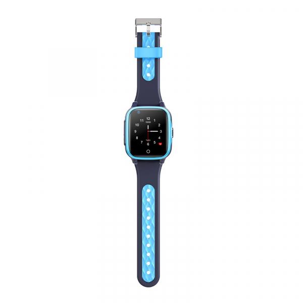 Ceas inteligent (smartwatch) pentru copii Optimus AT FG-07 cu localizare prin GPS, ecran 1.4 inch, apelare video, camera, buton SOS, perimetru blue [3]
