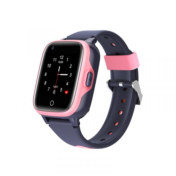 Ceas inteligent (smartwatch) pentru copii Optimus AT FG-07 cu localizare prin GPS, ecran 1.4 inch, apelare video, camera, buton SOS, perimetru pink [0]