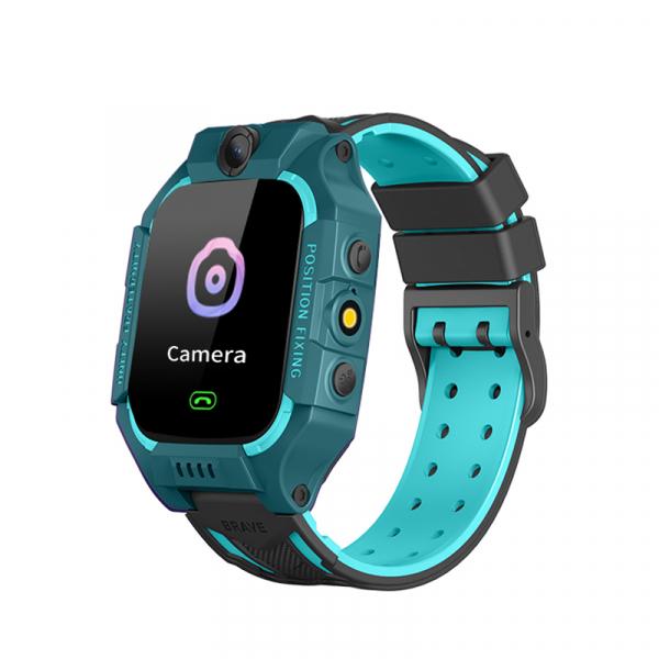 Ceas inteligent (smartwatch) pentru copii Optimus AT GK-01, 3G, GPS, ecran 1.3 inch, apelare audio, camera, buton SOS, perimetru, verde [0]