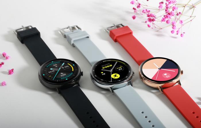 Ceas inteligent (smartwatch) SW07 cu apelare, difuzor si microfon incorporat, IP68, ecran cu touch 1.28 inch color, moduri sport, pedometru, puls, ECG, notificari, gri [5]