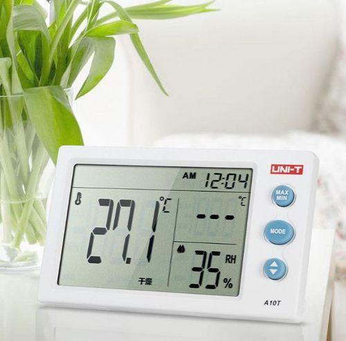 Termohigrometru digital A10T UNI-T, alarma, ceas, statie meteo [1]