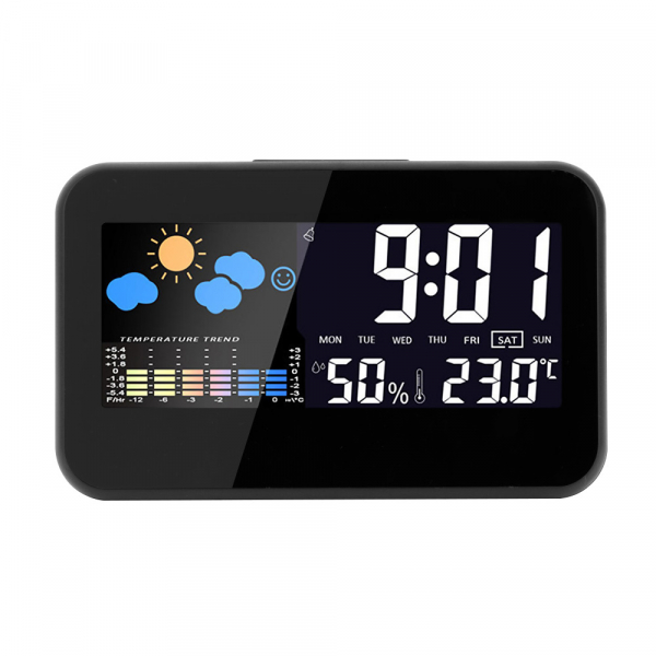 Ceas multifunctional Optimus AT 2618 termometru higrometru alarma [0]