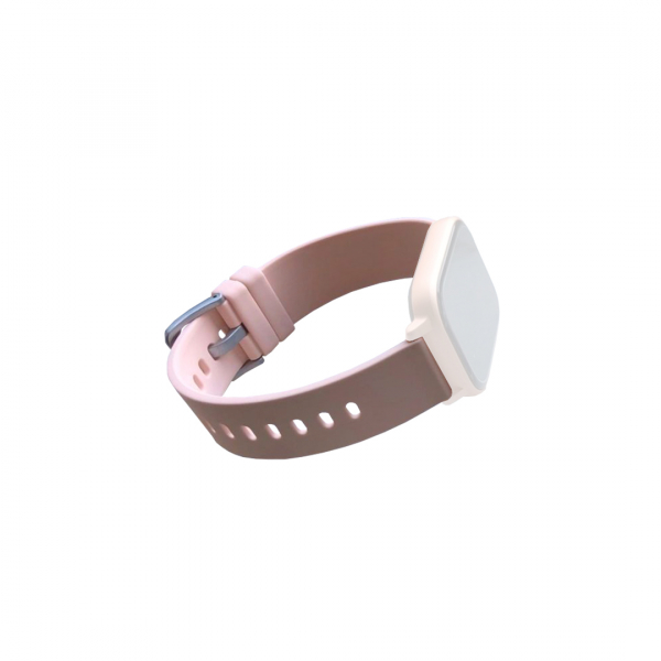 Curea de schimb din silicion pentru smart watch P8, bej [0]