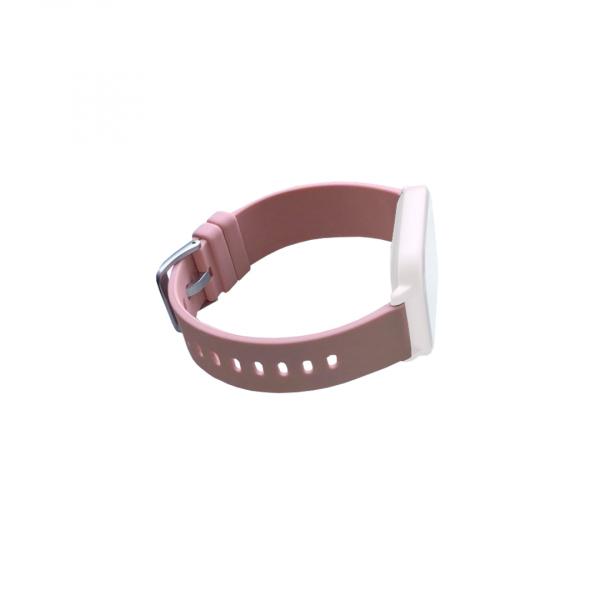 Curea de schimb din silicion pentru smart watch P8, pink [0]