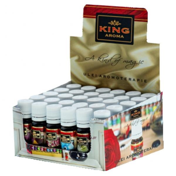 Pachet 10 uleiuri aromaterapie florale King Aroma [1]