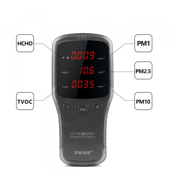 Aparat testare calitate aer -  PM 10 / 2.5 / TVOC / HCHO cu acumulator 6910 [5]