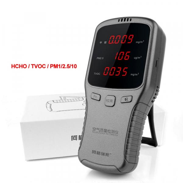 Aparat testare calitate aer -  PM 10 / 2.5 / TVOC / HCHO cu acumulator 6910 [0]
