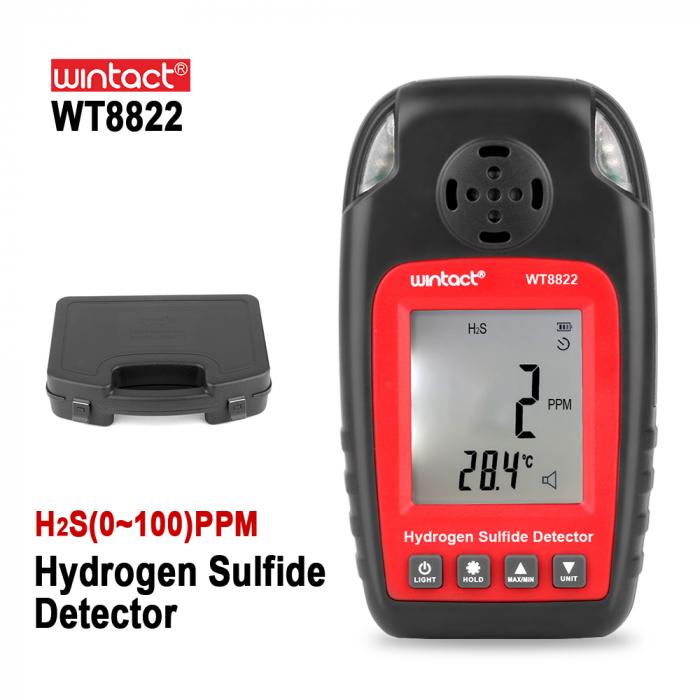 Detector Hidrogen Sulfurat (H2S) Wintact WT8822 [1]